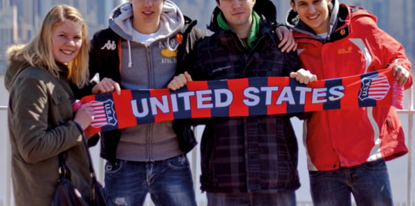 Ausflug nach New York beim Schüleraustausch USA