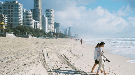 Strand und Meer in Australien