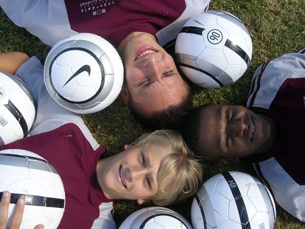 Fußball an einer High School in Australien